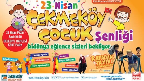 Cocuk Bayramina Ozel Sarkili Oyunlu Etkinlikler